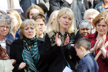 Jemma Redgrave The funeral of Corin Redgrave