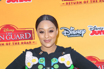Tia Mowry Celebrity Arrive at 'The Lion Guard: Return of the Roar'