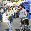 Tim Rosenman Whitney Port At Farmers Market Iin Studio City