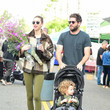 Tim Rosenman Ali Fedotowsky At The Farmer's Market