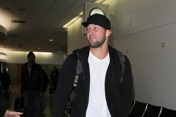 Tim Tebow Tim Tebow Is Seen at LAX