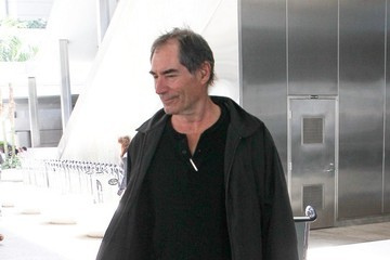 Timothy Dalton Timothy Dalton Arrives at LAX