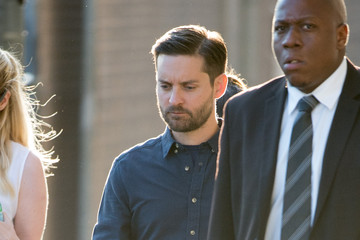Tobey Maguire Tobey Maguire Appears on 'Kimmel'