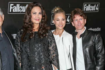 Todd Howard Celebrities Arrive at the 'Fallout 4' Launch Party