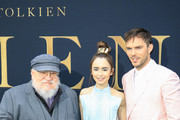 Nicholas Hoult and Lily Collins Photos Photo