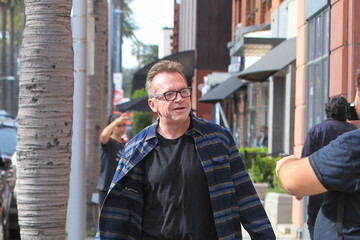 Tom Arnold Tom Arnold Is Seen in Beverly Hills