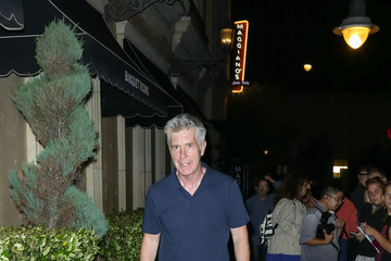Tom Bergeron Celebrities Are Seen at The Grove