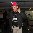 Tom Sizemore Tom Sizemore Arrives at the Airport