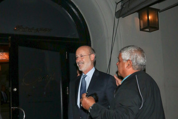 Tom Wolf Tom Wolf Is Seen Outside Craig's Restaurant In West Hollywood