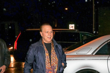 Tommy Mottola Tommy Mottola Outside Craig's Restaurant In West Hollywood