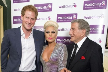 Tony Bennett Prince Harry Attends a Well Child Charity Concert