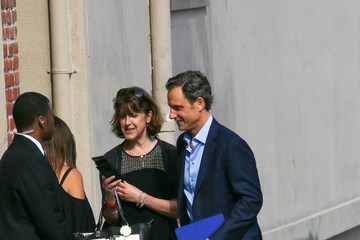 Tony Goldwyn Celebrities Visit 'Jimmy Kimmel Live'