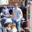 Topher Grace Topher Grace Shops At The Farmer's Market In Studio City
