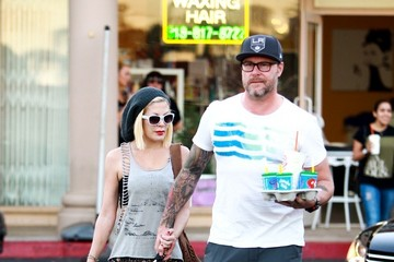 Tori Spelling Tori Spelling and Dean McDermott Out in LA