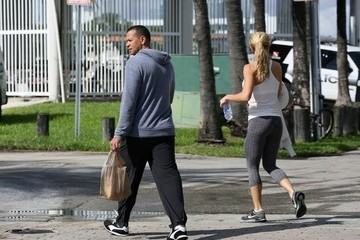 Torrie Wilson Alex Rodriguez and His Girlfriend Take a Stroll