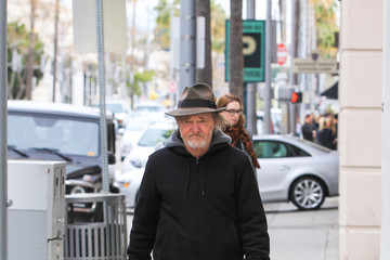 Tracey Walter Celebrity Sightings in Beverly Hills