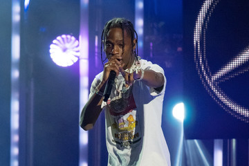 Travis Scott Travis Scott at 'Kimmel'..