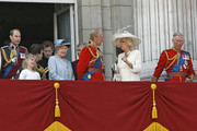 ***NO GERMANY/SWITZERLAND RIGHTS***.Trooping The Colour- The Queen's Official birthday held at Buckingham Palace.
