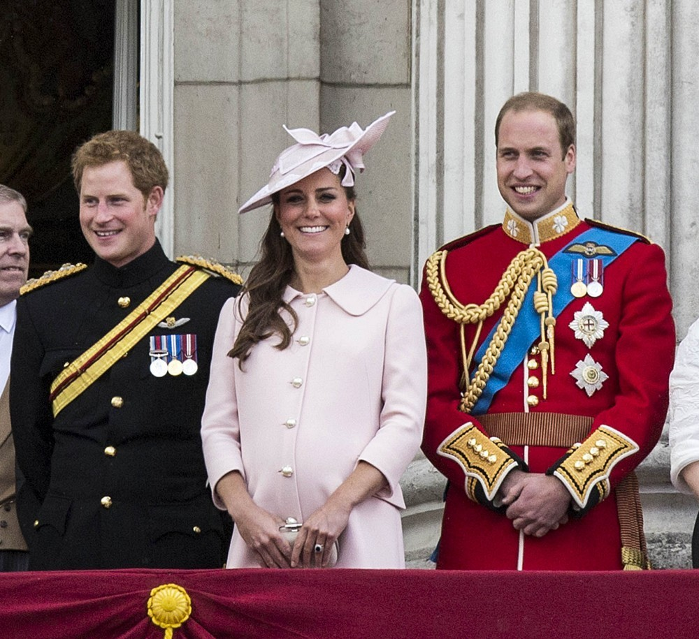 British Royals Attend The Trooping
