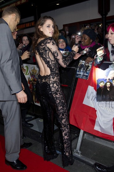 14/11/2012. 'The Twilight Saga Breaking Dawn Part 2' UK Premiere at The Odeon Leicester Square.Pictured: Kristen Stewart .