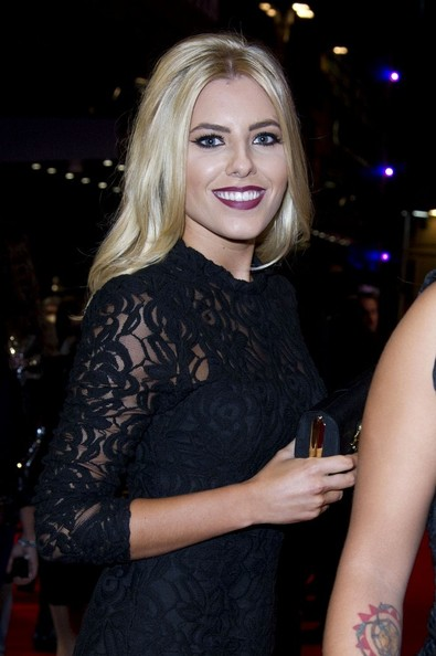 14/11/2012. 'The Twilight Saga Breaking Dawn Part 2' UK Premiere at The Odeon Leicester Square.Pictured: The Saturdays - Mollie King.