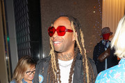 Ty Dolla Sign is seen outside Valentino in Los Angeles, California on Dec. 4, 2018.