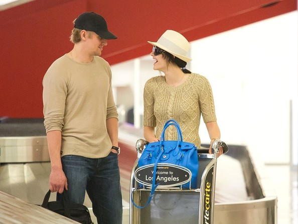 Emmy Rossum and Tyler Jacob Moore Arrive in LA