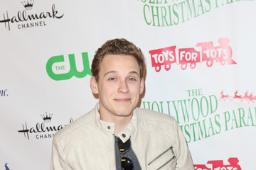 Tyler Perez Celebrities Attend the 84th Annual Hollywood Christmas Parade