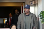 Tyrese Goes to the Airport with His Daughter