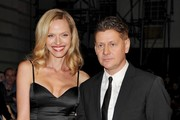 Rachel Roberts and Director Andrew Niccol Photos Photo