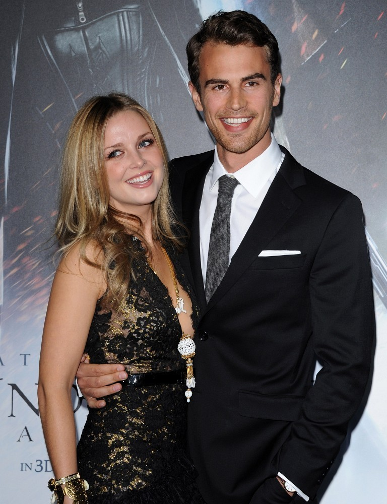 Theo james and wife