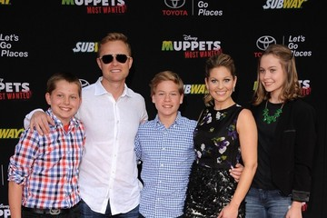 Valeri Bure 'Muppets Most Wanted' Premieres in Hollywood