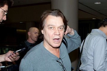 Eddie Van Halen The Van Halen bros at LAX