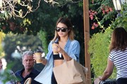Vanessa Hudgens Makes a Coffee Run