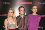 Emma Roberts, Michael Angarano and Dree Hemingway are seen attending Vertical Entertainment's 'In A Relationship' Premiere at The London Hotel in Los Angeles, California.