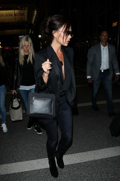 Victoria Beckham Seen at LAX