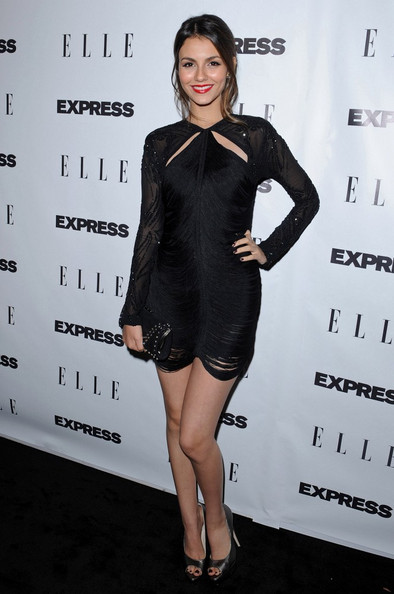 Victoria Justice ELLE and Express