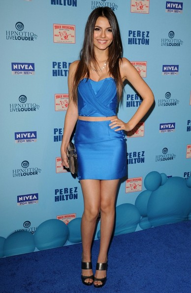 Victoria Justice Perez Hilton's Blue Ball Birthday Celebration.Siren Studios, Hollywood, CA.March 26, 2011.