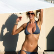 Victoria Silvstedt in St. Barts