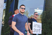 Stars of 'Jersey Shore' are seen in Los Angeles, California on June 16, 2018.