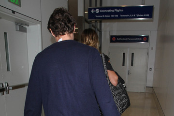 Vito Schnabel Heidi Klum and Vito Schnabel Are Seen at LAX