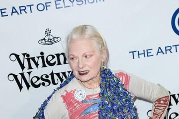 Vivienne Westwood Celebrities Attend Art of Elysium's 9th Annual Heaven Gala