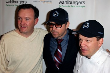 Paul Wahlberg The Wahlberg brothers open a burger joint
