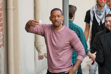 Will Smith Will Smith at 'Jimmy Kimmel Live'