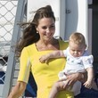Kate Middleton and Prince George Arrive in Sydney