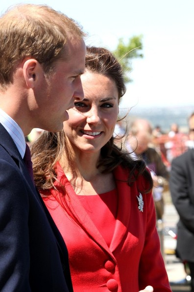 Prince William and Kate Middleton at Rotary Challenger Park