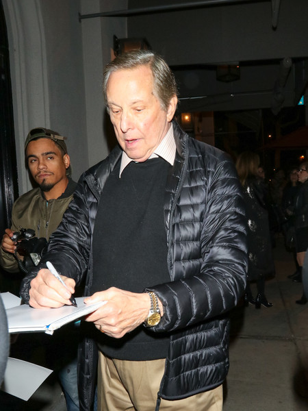 William Friedkin Outside Craig's Restaurant In West Hollywood