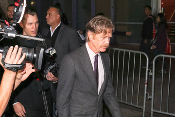 William Macy  William H. Macy Arriving At 'Fury vs. Wilder' Fight At The Staples Center