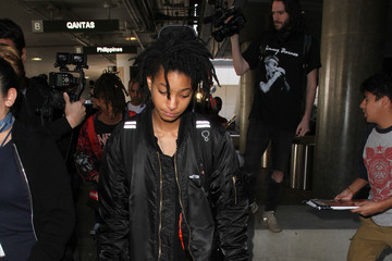 Willow Smith Jaden Smith Willow Smith Is Seen at LAX
