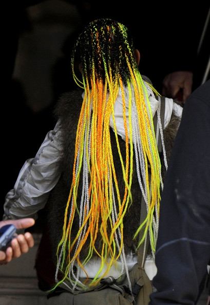 Yellow Hair Extensions 98